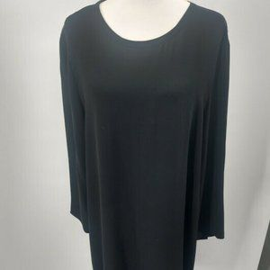 Eileen Fisher XL Dress Keyhole Sleeves
